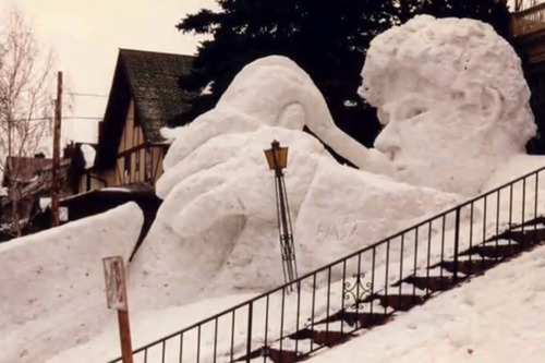 ミネソタ州の雪だるま03
