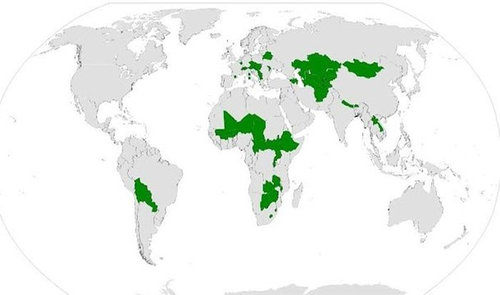 世界地図いろいろ13