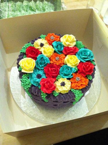 04おもしろいキャラクターケーキ