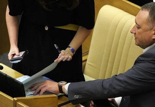 ロシアの議会風景10