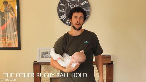 「赤ちゃんの抱き方」15