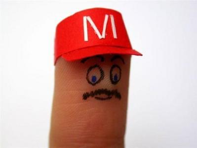 指を擬人化02