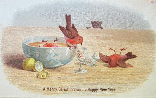 19世紀のクリスマスカード07