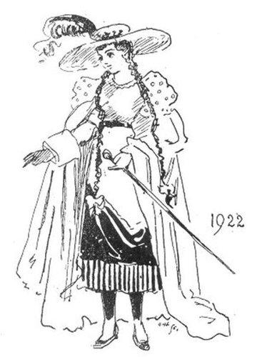 19世紀に想像した20世紀のファッション08