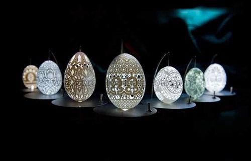 卵の殻アート06