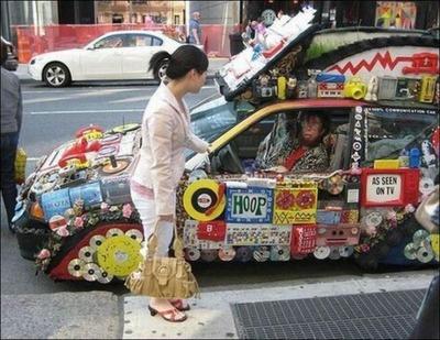変な車11