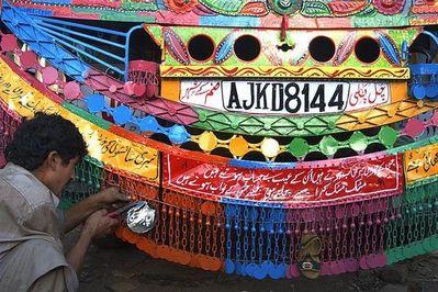 パキスタンのデコトラ20