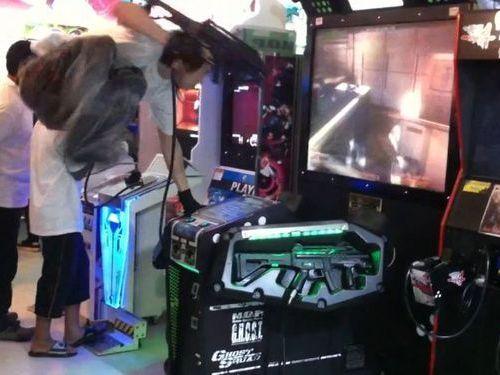 タイのゲームセンター