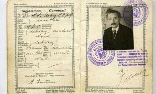 歴史上の有名人のパスポート01