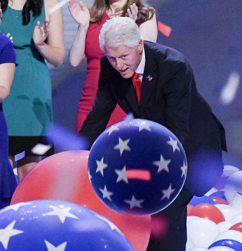ビル・クリントンはバルーンが大好き11