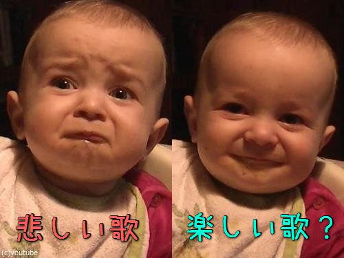 ママの歌で表情がコロコロ変わる赤ちゃん00