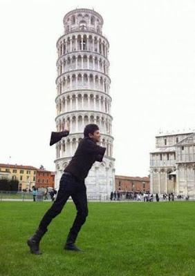 ピサの斜塔の修正写真04
