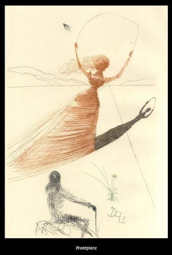 ダリが描いた不思議の国のアリス02