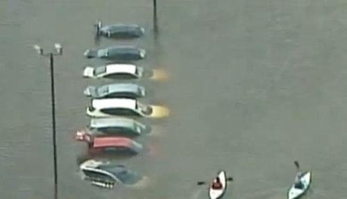 ミネソタ州で洪水01