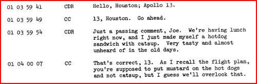 アポロ13号の会話記録01