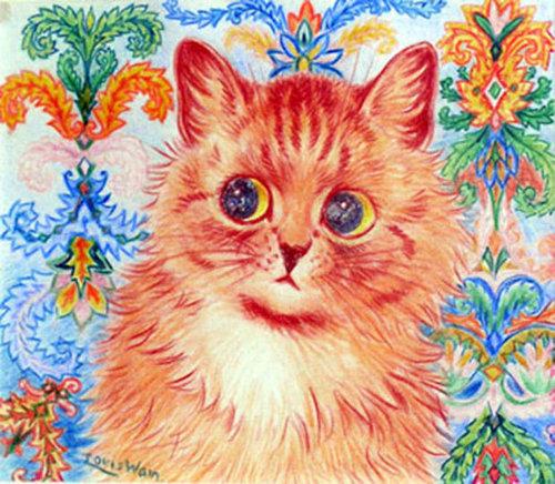 有名画家の描いた猫08