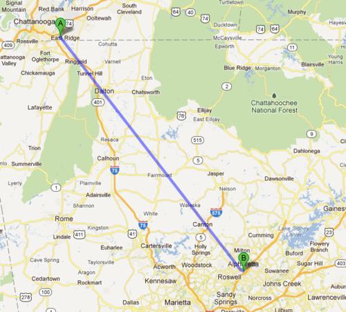Googleマップの奇妙な結果01
