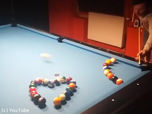 ビリヤードのボールで作るのは…01