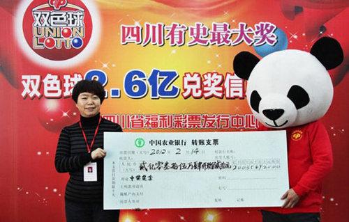 中国の宝くじ当選者09