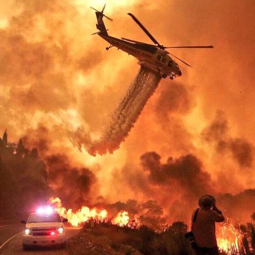 カリフォルニアの消防士01