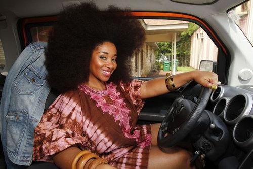 世界一のアフロ女性04