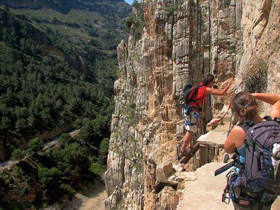 やばすぎるスペインの断崖絶壁「Caminito del Rey」TOP