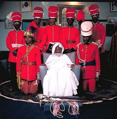アフリカの部族の王や族長たち07