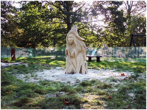 チェーンソー彫刻19