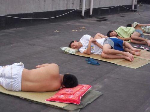 猛暑の武漢市03