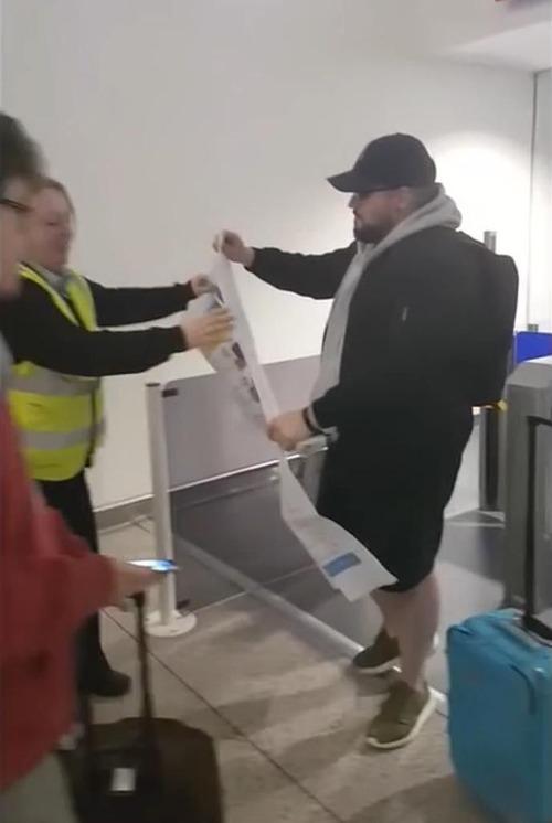 友人が搭乗券を印刷してくれた05