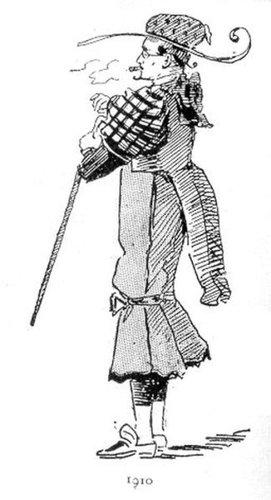 19世紀に想像した20世紀のファッション03