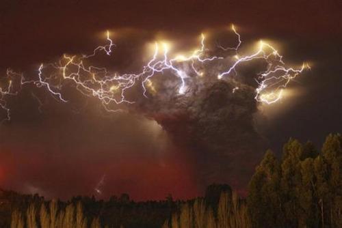 チリのプジェウエ火山12