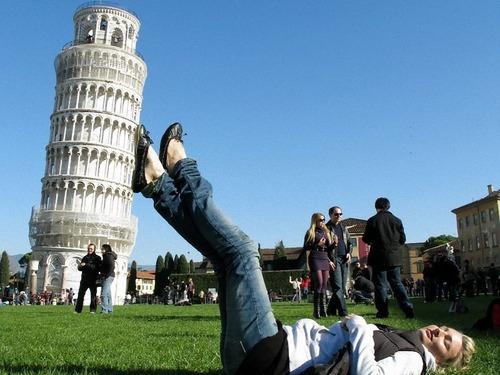 ピサの斜塔の角度が戻る