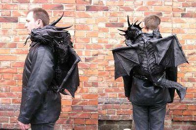 ドラゴン革バッグ01