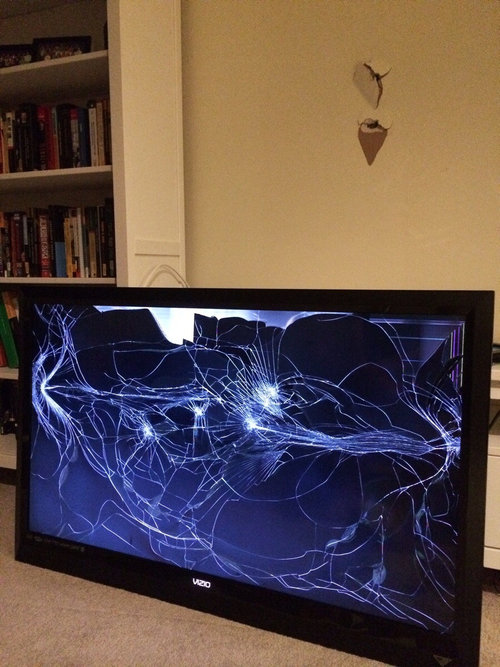 壁掛けテレビ02