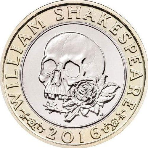 シェイクスピアの記念硬貨01