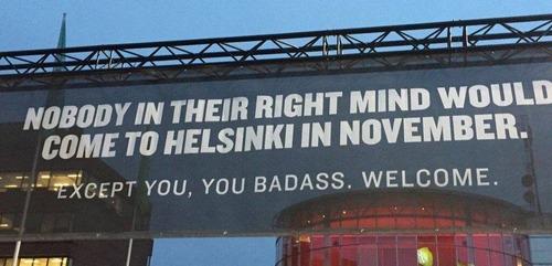 フィンランドのヘルシンキの宣伝01