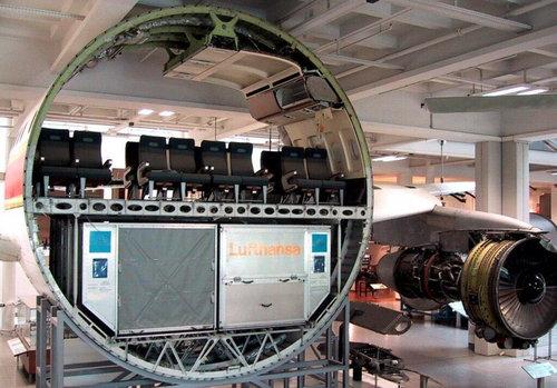 旅客機の胴体