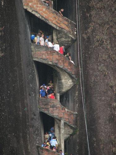 巨岩「ラ・ピエドラ・デル・ペニョール」17