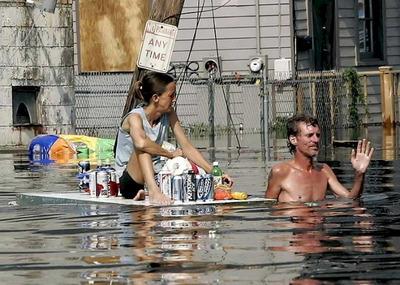 洪水で、少なくとも一番重要なものは守れた01