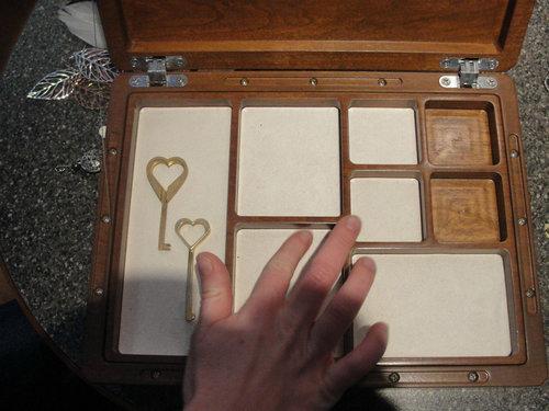手作りジュエリーボックス11