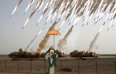 合成がバレたイランのミサイル発射、画像の加工がエスカレート04
