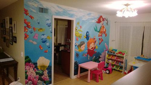 子供部屋に描いたジブリ10