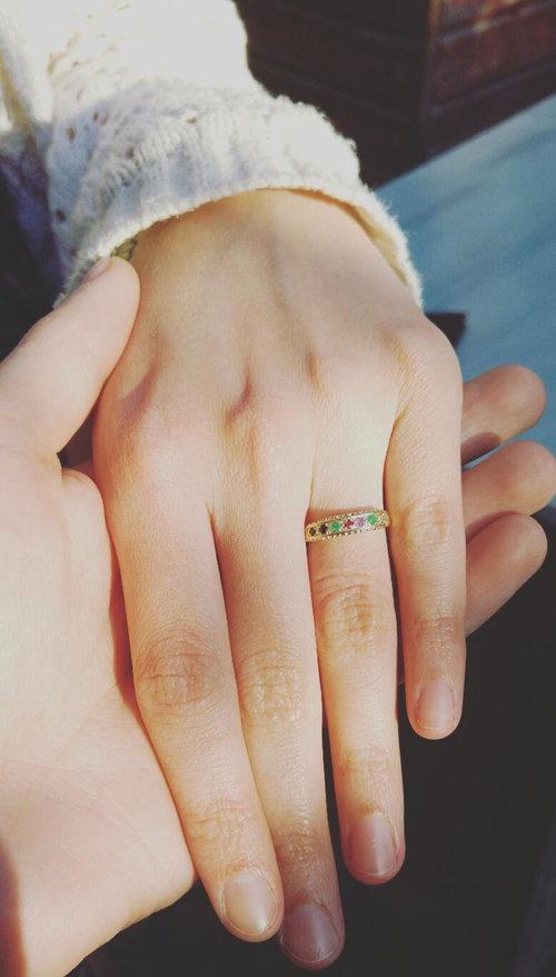 愛を意味する指輪01