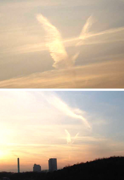 天地創造か終末のような空模様09
