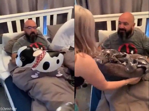 誕生日にフレンチブルの子犬をプレゼント02