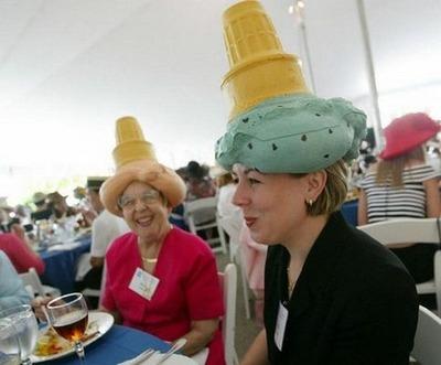 変な帽子12