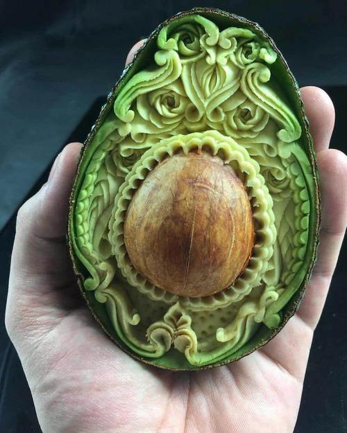 野菜彫刻家01