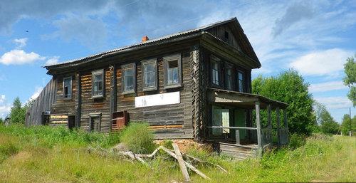 ロシアの廃村02