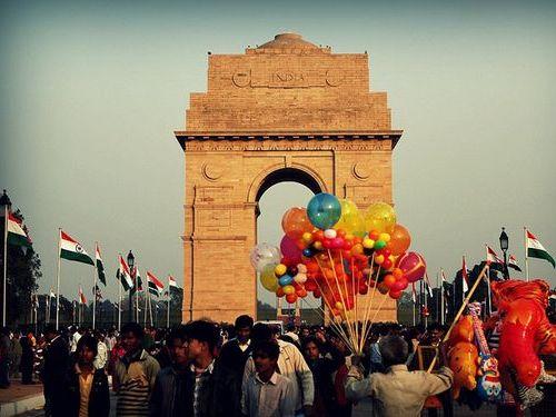 インドの軍事パレード00